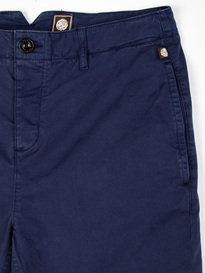 Pretty Green Paisley Turn Up Shorts Navy