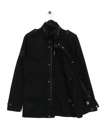 Pretty Green M65 Quin Jacket Black