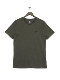 Pretty Green S&P Marl Crew T-Shirt Olive Green