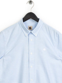 Pretty Green Stirling Oxford Shirt Blue