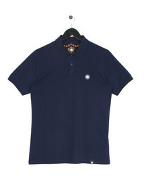 Pretty Green Tendale Short Sleeve Polo Navy