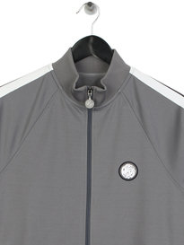 Pretty Green Tilby Tracktop Grey