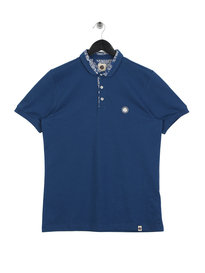 Pretty Green Winteon Carver Polo Blue