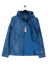 Pretty Green Teredo Zip Through Jacket Blue