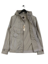 Pretty Green Teredo Zip Through Jacket Grey