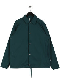 Rains Coach Jacket Teal Green