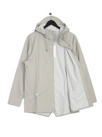 Rains Jacket Light Grey