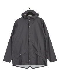 Rains Jacket Smoke Grey