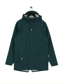 Rains Jacket Teal Green