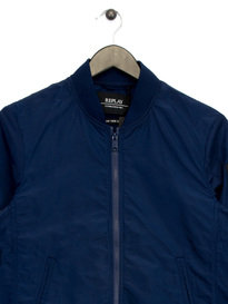 Replay Bomber Jacket Navy