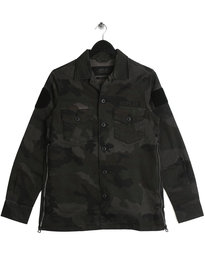 Replay Camo Overshirt Green