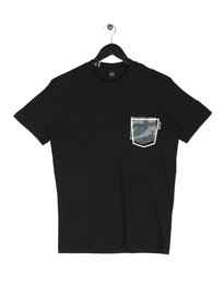 Replay Camo Pocket Short Sleeve T-Shirt Black