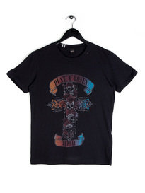 Replay Dust N Bones T-Shirt Black