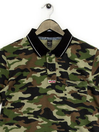Replay Halbarm Polo Shirt Camo