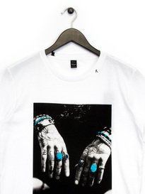 Replay Hands Graphic T-Shirt White
