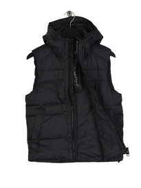 Replay Hooded Gillet Black