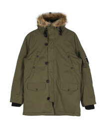 Replay Hooded Parka Green