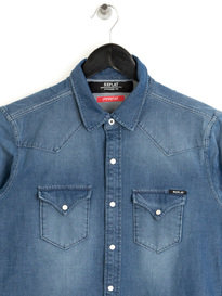 Replay Hyperflex Shirt Denim