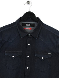 Replay Hyperflex Shirt Indigo