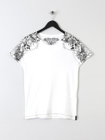 REPLAY ILLISTRATIONS T SHIRT 001 WHITE