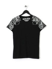 REPLAY ILLISTRATIONS T SHIRT 098 BLACK