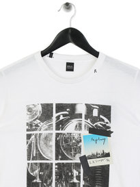 Replay La Tripping T-Shirt White