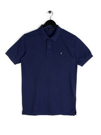 Replay Logo Polo Navy