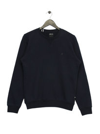 Replay Logo Sweatshirt Navy