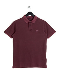 Replay M3361 Logo Polo Shirt Burgundy