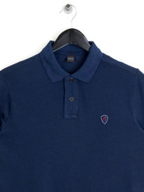 Replay M3661 Logo Polo Shirt Navy