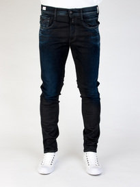 Replay M914 661 01D Anbass Hyperflex Jeans Black