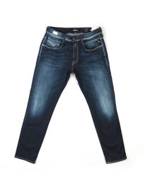 Replay M914 661 02D Anbass Hyperflex Denim Jeans Blue