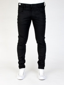 REPLAY M914 661 03B ANBASS HYPERFLEX JEANS BLACK