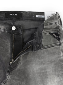 Replay M914 Anbass Hyperflex Grey Denim