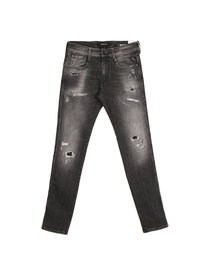Replay M914J Anbass Distressed Grey Denim