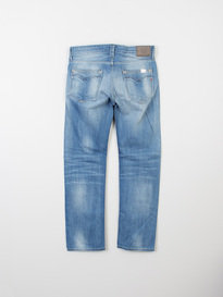 Replay Newbill 12.5Oz Light Blue Loose Fitting Jeans