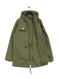 Replay Patches Jacket Green