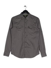 Replay Pattern Shirt Grey