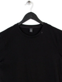 REPLAY PLAIN JERSEY T-SHIRT BLACK