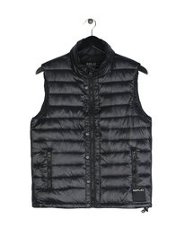 Replay Quilted Gilet Black