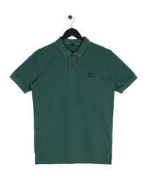 Replay Short Sleeve Logo T-Shirt Green