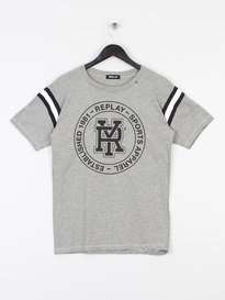 Replay Sports Apparel T-Shirt Grey