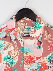 Replay SS Hawaiian Print Shirt Multicolour