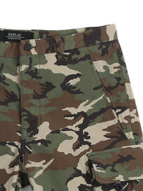 Replay Stretch Bermuda Shorts Camo