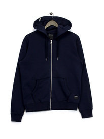 Replay Zip Up Hoodie Navy