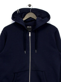 Replay Zip Up Hoody Navy