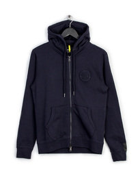 REPLAY ZIP UP SWEAT TOP NAVY