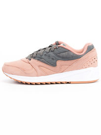 Saucony Grid 8000 Trainers Salmon