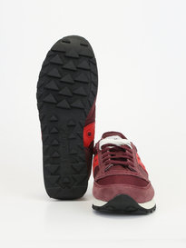 Saucony Jazz Original Trainers Burgundy