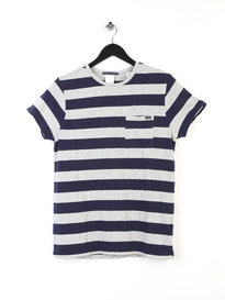 Scotch & Soda 1 Pocket Distillery T-shirt Navy
